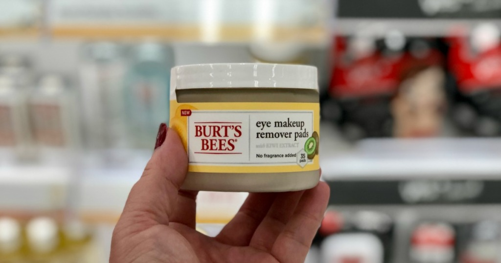 Burts Bees Eye Makeup Remover Wipes Only 268 Shipped Hip2save