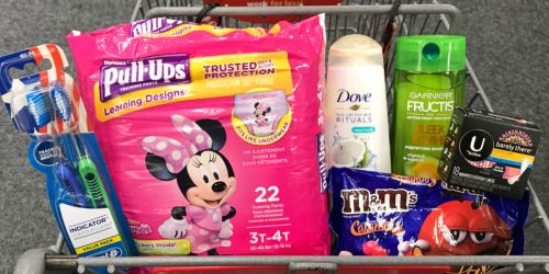 Garnier Fructis $1, Huggies Pull-Ups $3.62 & More at CVS (Starting 1/27)