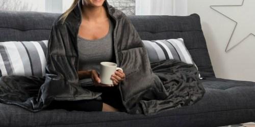 Altavida Faux Mink Weighted Blanket Only $42.49 + Get $5 Kohl's Cash