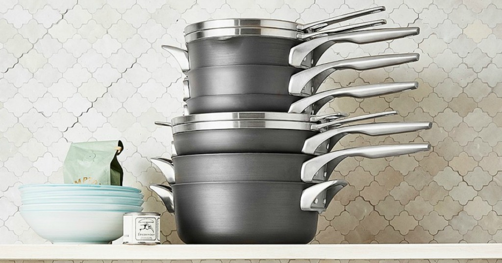 87dc729fce35 Calphalon 10-Piece Cookware Set