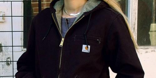 Carhartt Women's Sherpa Lined Jacket Only $43 Shipped