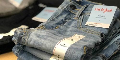 Cat & Jack Girls Jeans Only $8 (Regularly $18) at Target.com