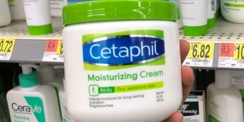 Amazon: Three Cetaphil Moisturizing Cream LARGE 16oz Jars Only $24.99 Shipped (Just $8.33 Each)