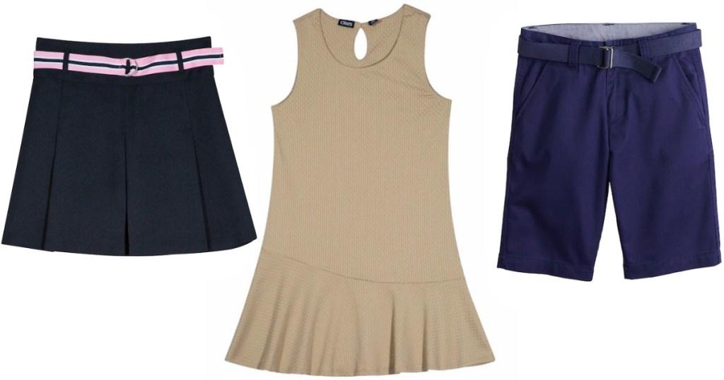 Chaps girls school uniform