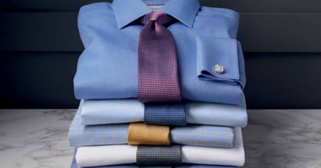 8105e38d Charles Tyrwhitt Men's Dress Shirts as Low as $19.55 Shipped (Regularly  $110)
