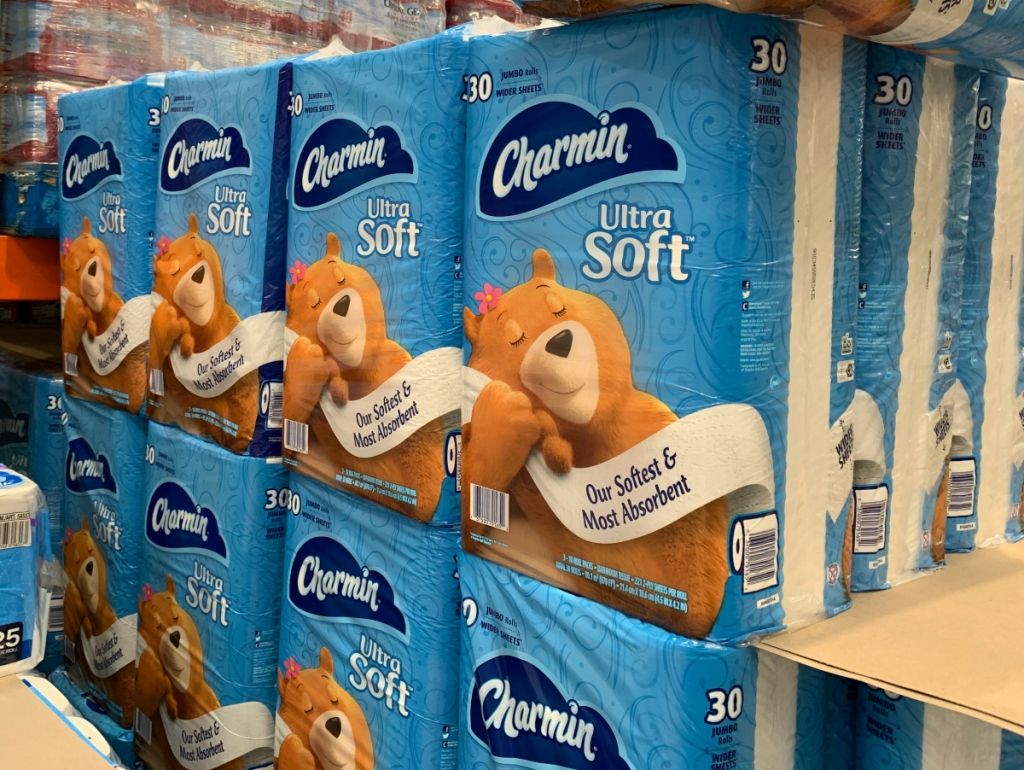 Charmin Ultra Soft at Costco