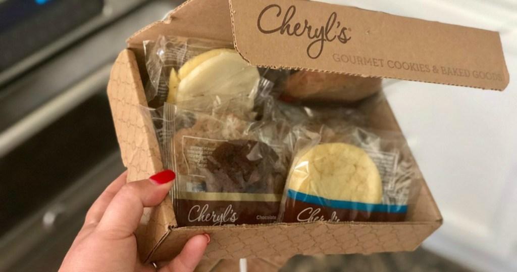 cookies in Cheryl's Cookie box