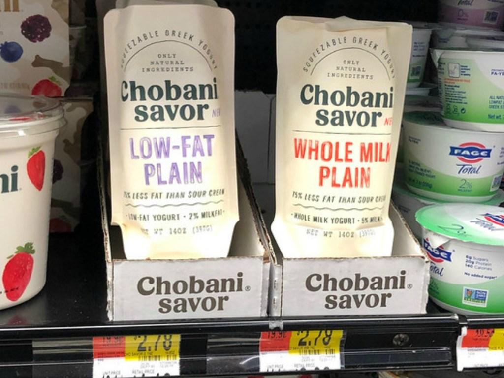 FREE Chobani Savor Yogurt at Walmart After Ibotta