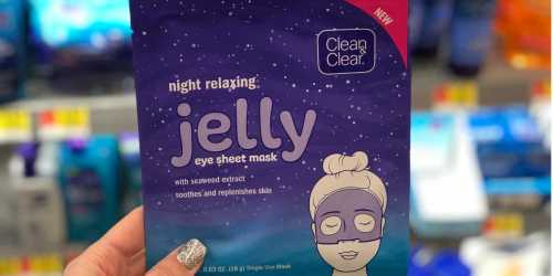High Value $2/1 Clean & Clear Product Coupon = Eye Mask Only 50¢ at Walmart
