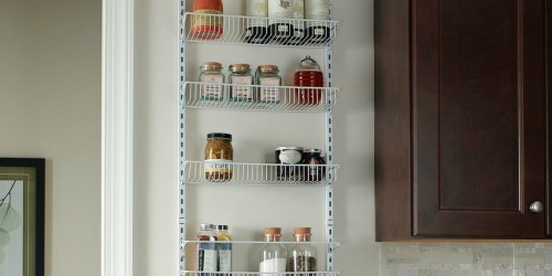 ClosetMaid Adjustable 8-Tier Wall & Door Rack ONLY $33.99 on Amazon or Target.com