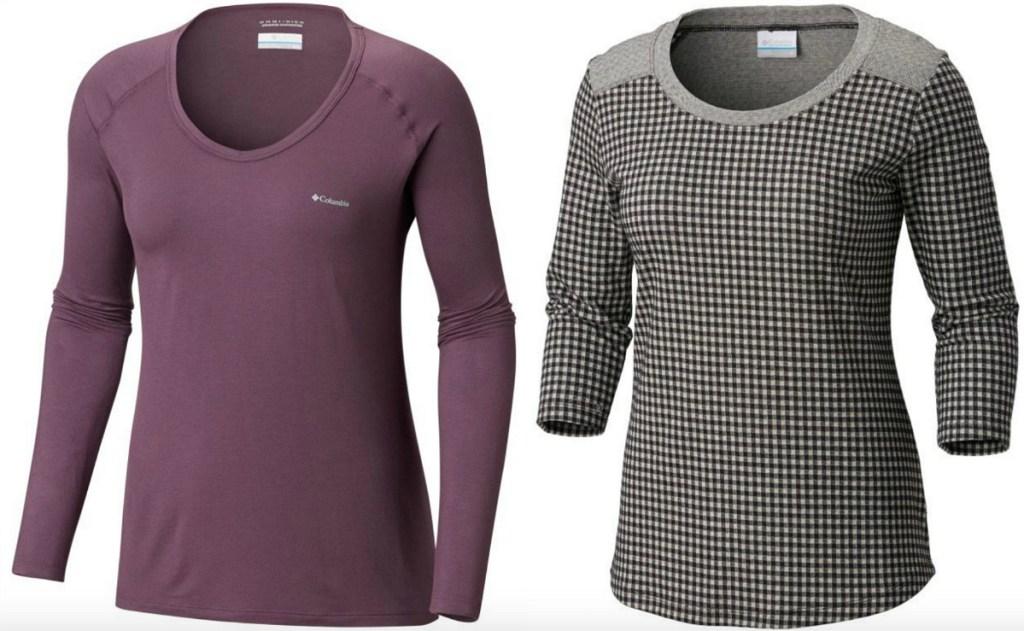 Columbia Womens shirts