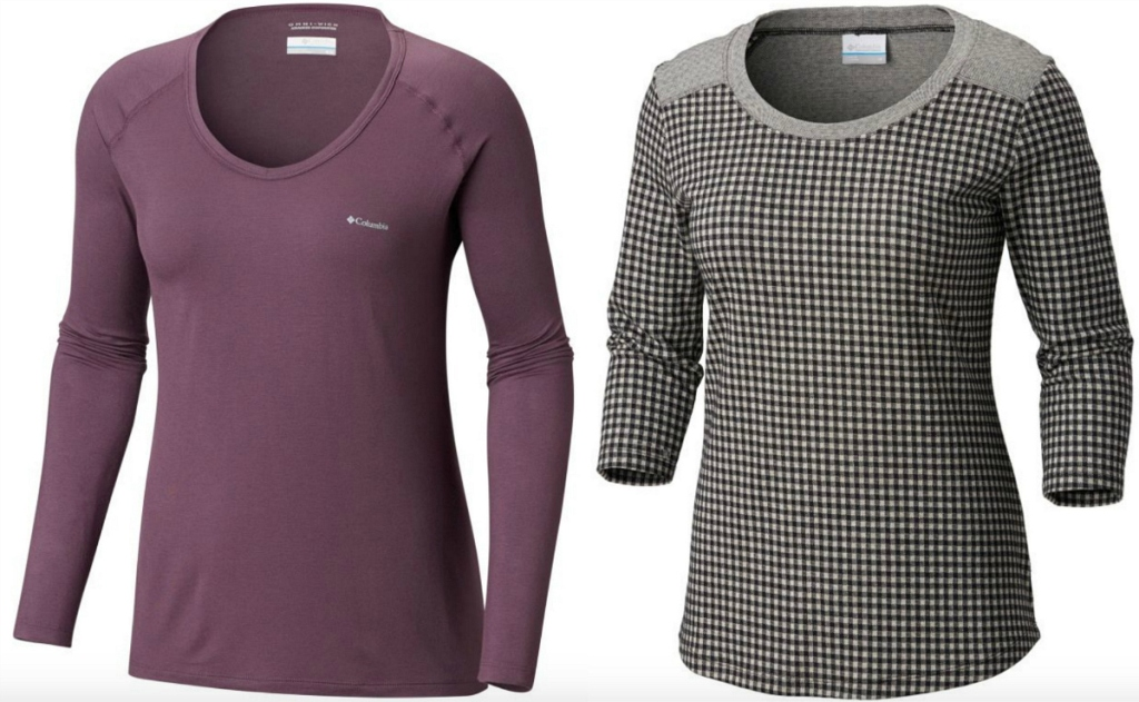 Columbia Womens shirts