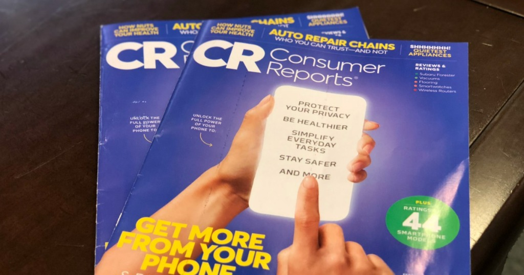 Consumer Reports Magazine Subscription Only 17 95 Hip2save