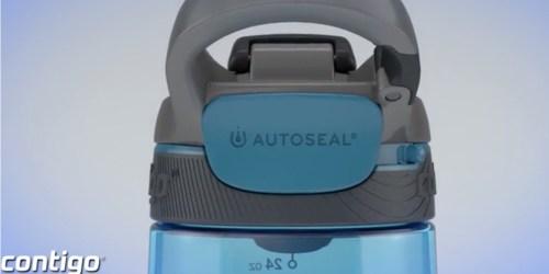 Contigo Autoseal 24oz Water Bottle Only $7 (Ships w/ $25 Amazon Order)