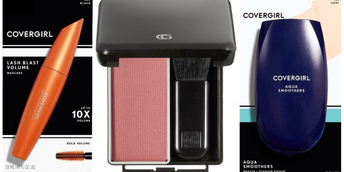 Amazon: CoverGirl Smoothers Foundation Only $2.39 Shipped & More