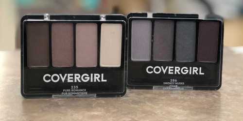 $8 in New CoverGirl Coupons = 4-Kit Eye Shadows Only 86¢ Each at Walgreens