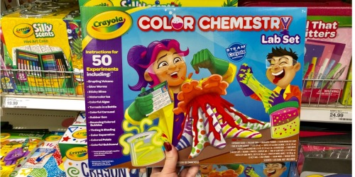 Crayola Color Chemistry Lab Set Only $13.99 (Regularly $25) at Target