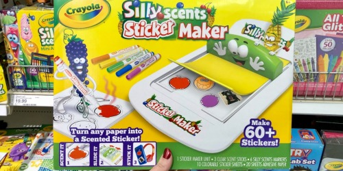 Crayola Silly Scents Sticker Maker Just $8.39 at Target.com