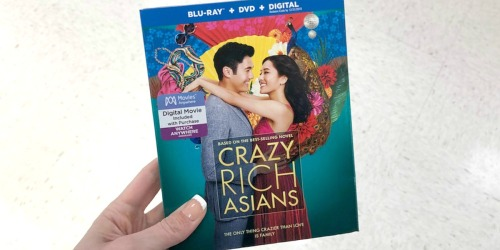 Crazy Rich Asians Blu-ray + DVD + Digital Combo Only $9.99 Shipped