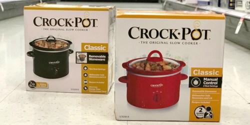 Crock-Pot 2-Quart Slow Cooker Only $7.99 at Target.com