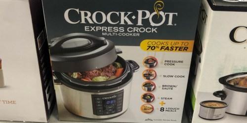 Crock-Pot 6-Quart Pressure Cooker as Low as $48.99 Shipped + Earn $10 Kohl's Cash