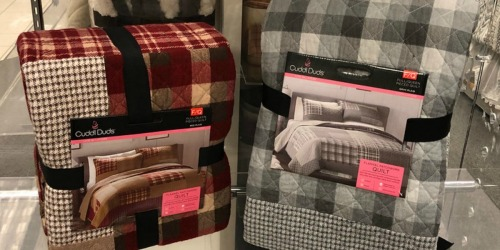 Cuddl Duds Quilts as Low as $33.31 Shipped (Regularly $140)+ More at Kohl's
