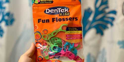 DenTek Kids Flossers 450-Count Only $9 Shipped on Amazon