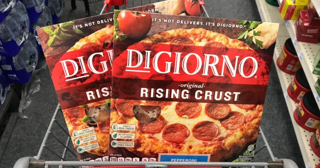 Digiorno in basket