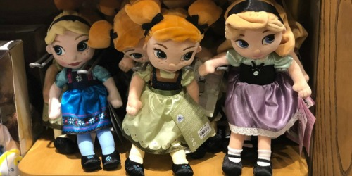 Buy One Disney Plush, Get One for $3
