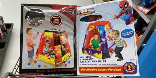 Disney & Marvel Blow-Up Play Ball Sets Possibly Just $5 at Walmart