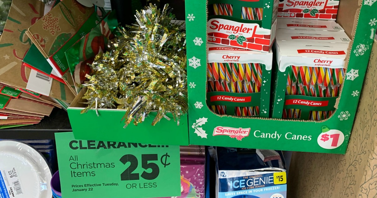 Is Dollar General Open On Christmas Day 2021 25 Christmas Clearance At Dollar General Hip2save