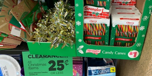 25¢ Christmas Clearance at Dollar General