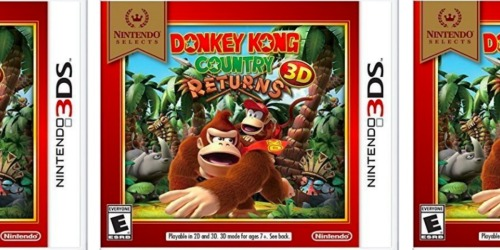 Donkey Kong Country Returns 3D Nintendo 3DS Game Only $12.45 Shipped (Regularly $20)