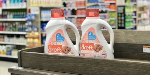 Dreft Laundry Detergent 2-Pack Only $13 Shipped + More Subscribe & Save Household Deals