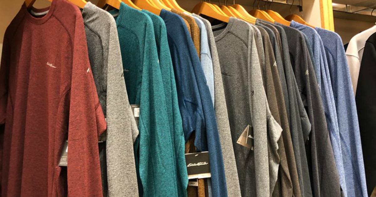 Eddie Bauer men's shirts