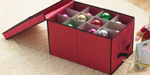 Elf Stor Christmas Ornament Storage Chest Just $11.99 (Regularly $19)