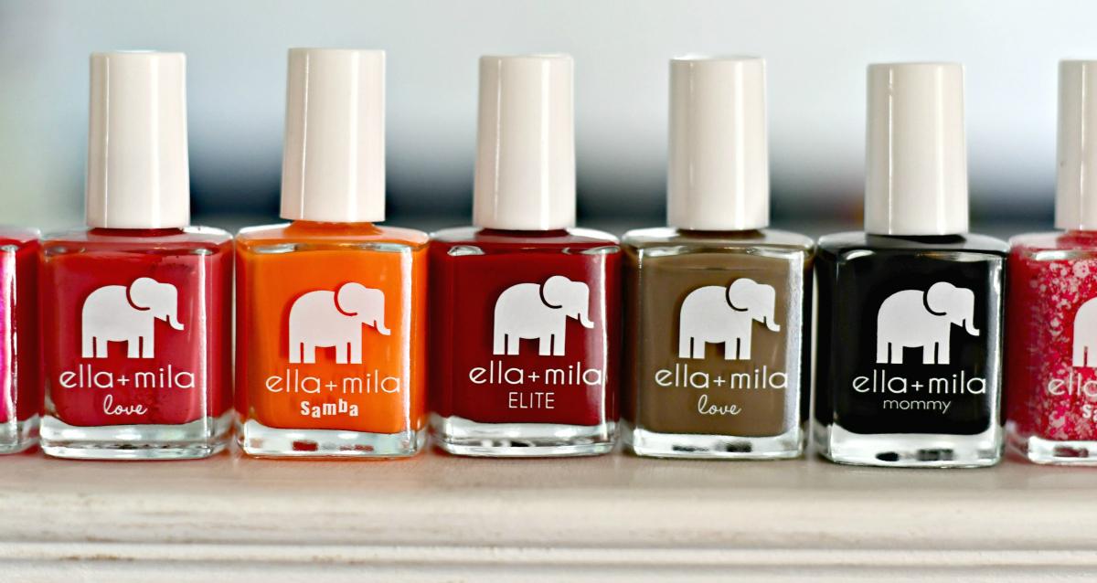 Ella+Mila promo code plus free shipping – Ella+Mila Nail Colors in a row