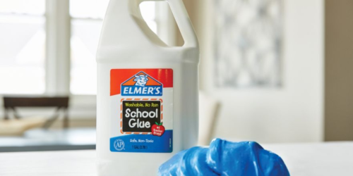 Elmer's Washable School Glue 1-Gallon Jug Only $9 Shipped (Great for Making Slime)