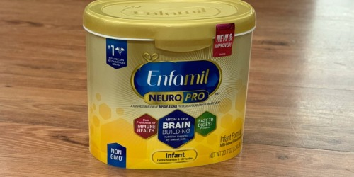 Amazon: Enfamil NeuroPro Baby Formula 6-Pack Only $97 Shipped (Just $16 Each)