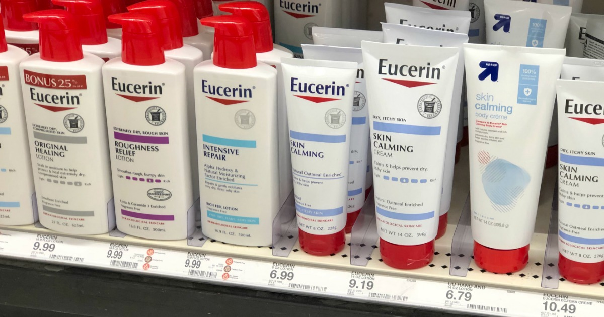 picture regarding Eucerin Coupons Printable named Clean Eucerin Discount coupons \u003d 50% Off Lotion Soon after Concentration Reward Card
