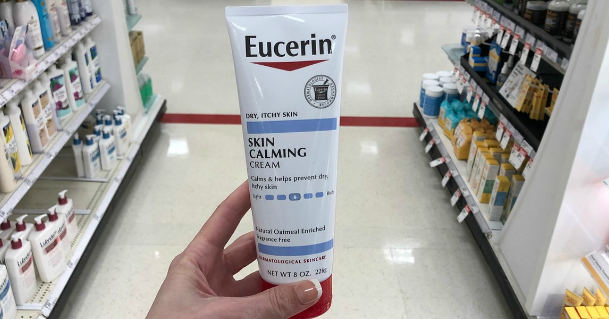 image relating to Eucerin Coupons Printable called Higher Price $3/1 Eucerin Lotion, Product or Little one Products Coupon
