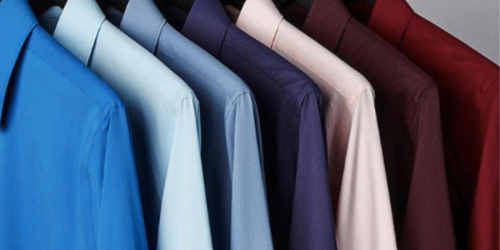 FOUR Express Men's Dress Shirts Only $60 Shipped (Just $15 Each)