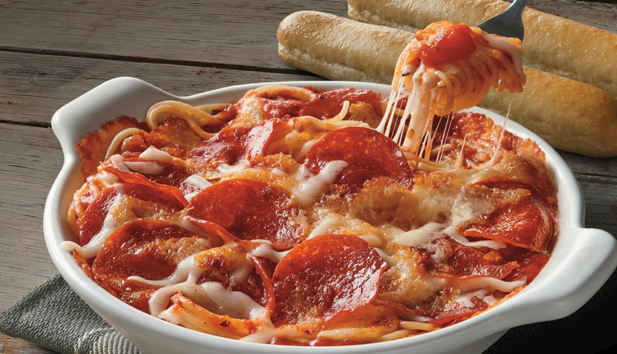 Fazoli's dip in a serving dish