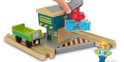 Fisher-Price Thomas & Friends Wood Spin & Lift Crane Only $8.44 Shipped at Amazon