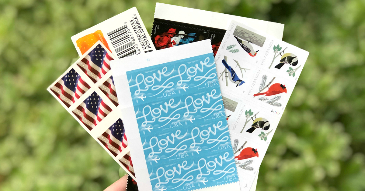 price increase usps forever stamps – stamps fanned out