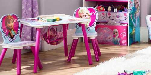 Frozen Toddler Storage Table Set Only $25