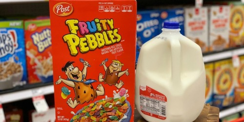 New $1/2 Post Pebbles Cereal Coupon