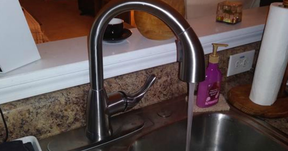 Glacier Bay Pull-Down Kitchen Faucet Only $47.88 Shipped ...