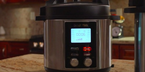 Gourmia 6-Quart Pressure Cooker Just $39.99 Shipped (Regularly $140)