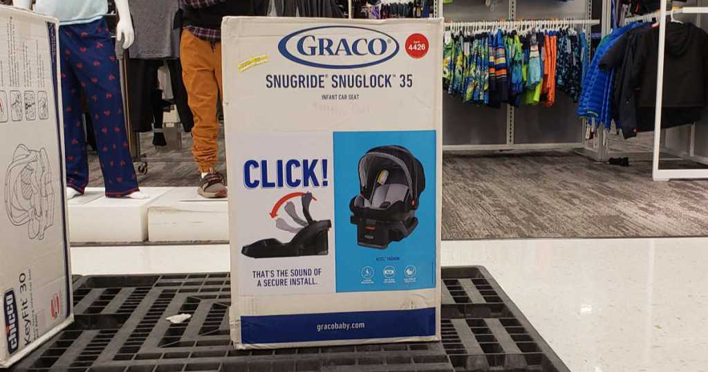 box of Graco SnugRide